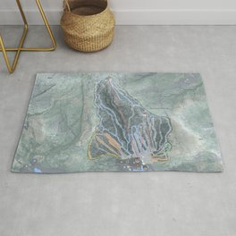 Gunstock Mountain Resort Trail Map Rug