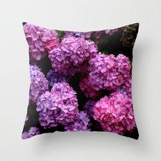 Spring Hydrangeas 4 Throw Pillow