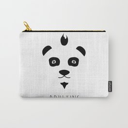 Panda + Adulting Carry-All Pouch
