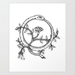 Ouroboros  Art Print