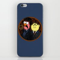 221b iPhone & iPod Skins featuring 221b Beaker Street by Onebluebird