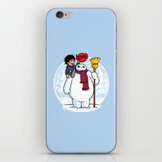 Inflatable Snowman iPhone & iPod Skin