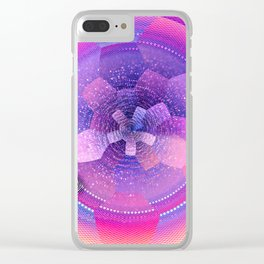 geometrical abstract vb Clear iPhone Case