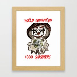 1000 SUB TEE SHIRT Framed Art Print