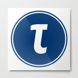 Tauchain logo Metal Print