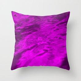 Tranquil Pink  Throw Pillow