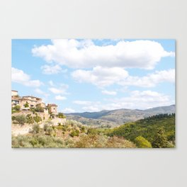 Rolling Hills of Tuscany Canvas Print
