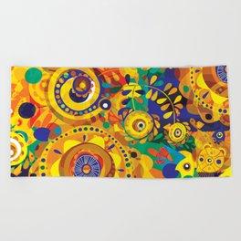 Pra Oxum Beach Towel