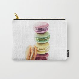 Colorful Macarons Wataercolor Painting Carry-All Pouch