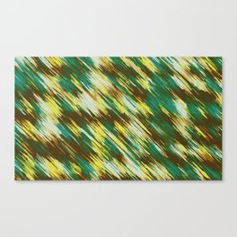 green yellow and brown abstract texture background Canvas Print