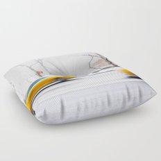 City Winter Floor Pillow