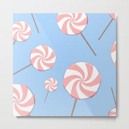 pink lollipops Metal Print
