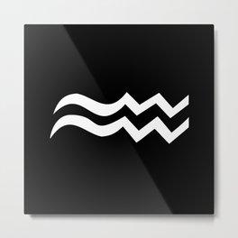 Aquarius II Metal Print