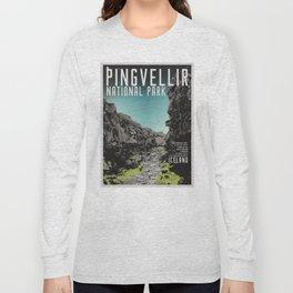 Iceland: Pingvellir Long Sleeve T-shirt