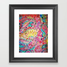 :: Perfectly Paisley :: Framed Art Print
