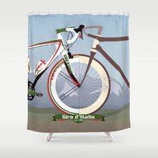 GIRO D'ITALIA  Shower Curtain