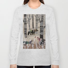 Forest in Sweater Long Sleeve T-shirt