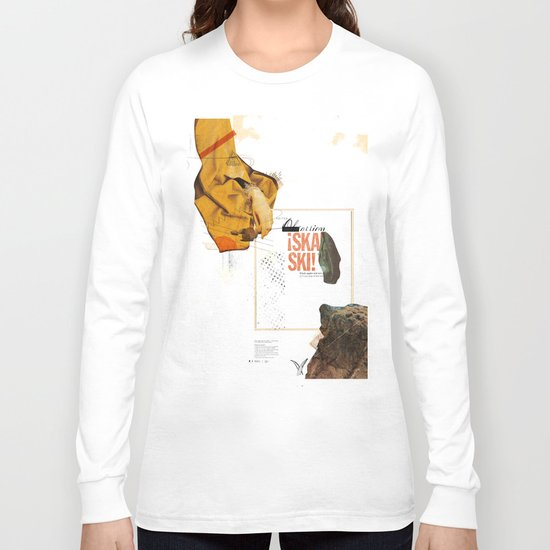 """Prescriptions and Placebos"" - Mixed Media 1 of 2 Long Sleeve T-shirt"
