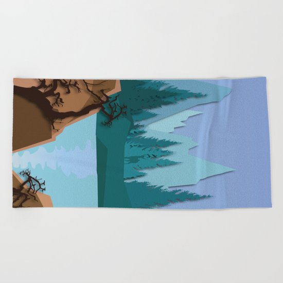 My Nature Collection No. 38 Beach Towel