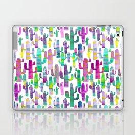 Watercolor Cacti - Pinks - Saguaros Laptop & iPad Skin