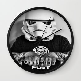 Knuckle Up Wall Clock