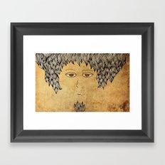 He Is An Architect! Framed Art Print