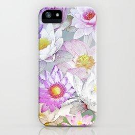 The Lotus Pond iPhone Case