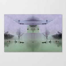 Overseers of the mist Canvas Print
