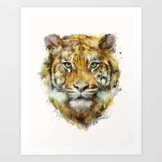 Tiger // Strength Art Print