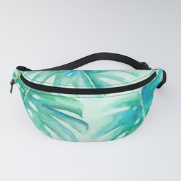 Paradise Palms Mint Fanny Pack
