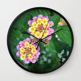Southern blossoms Wall Clock