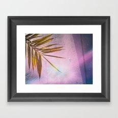 PinkPalm Framed Art Print