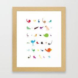Jolly Troop Framed Art Print
