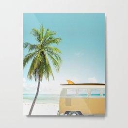 Travel surfing life Metal Print
