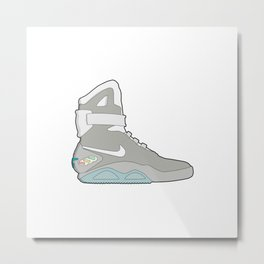 Air Mag grey - back to the future Metal Print