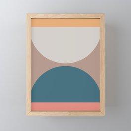 Abstract Geometric 23 Framed Mini Art Print