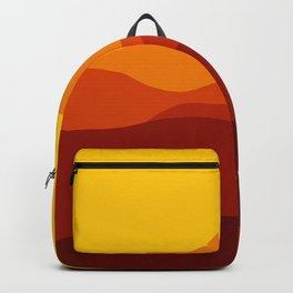 Mountains at Sunset  #society6 #decor #buyart #artprint Backpack