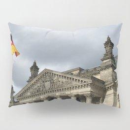 Reichstag in storm Pillow Sham