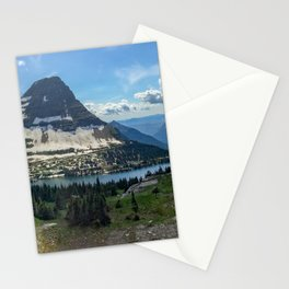Hidden Lake at Logan Pass Stationery Cards