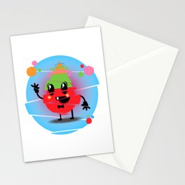 Mr Glitchy Stationery Cards
