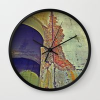 concrete Wall Clocks featuring Concrete by RDKL, Inc.