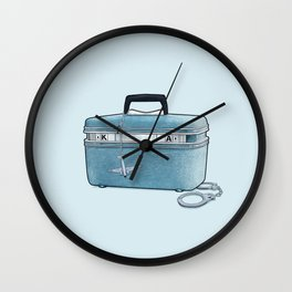 LOST Luggage / Kate Wall Clock