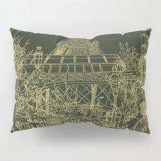 Paris! Olive Pillow Sham