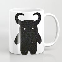 taurus Mugs featuring Taurus by Leandra Lilly Dreyer