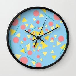 Chaos around you Wall Clock