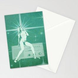 Quiverish Radio 3 - Uncensored - Erotic Collage Art Stationery Cards