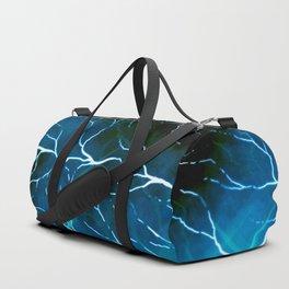 Lightning strikes Duffle Bag