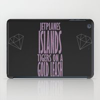 lorde iPad Cases featuring Lorde Royals Lyrics by Ranofer