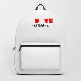I Hate People Savage Sarcastic Sarcasm Anti Social Introvert Backpack