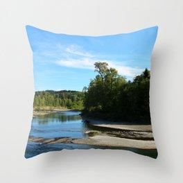 Quillayute River Throw Pillow